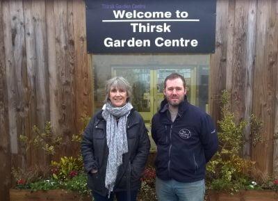 Thirsk Garden Centre - Helen and Joe Joyce